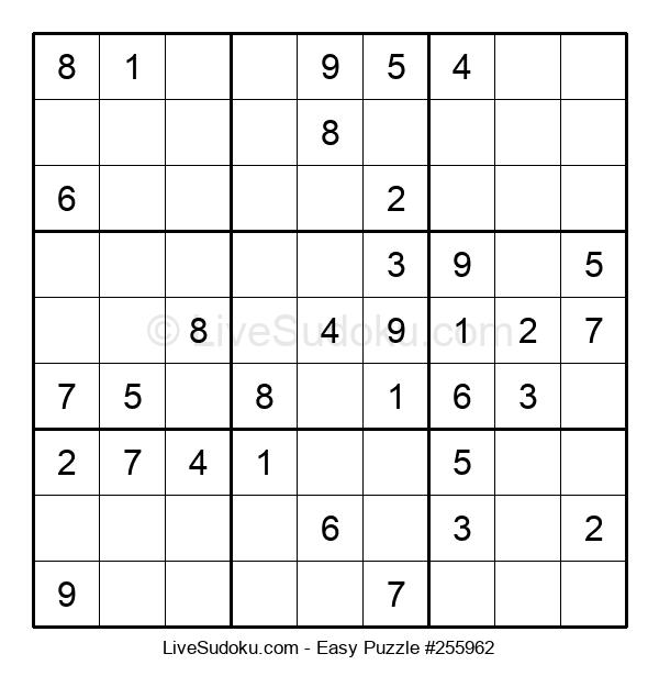 Beginners Puzzle #255962