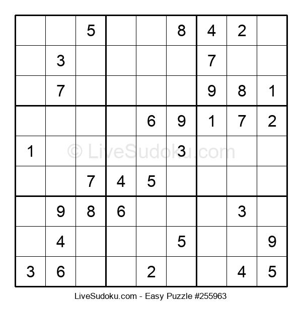 Beginners Puzzle #255963