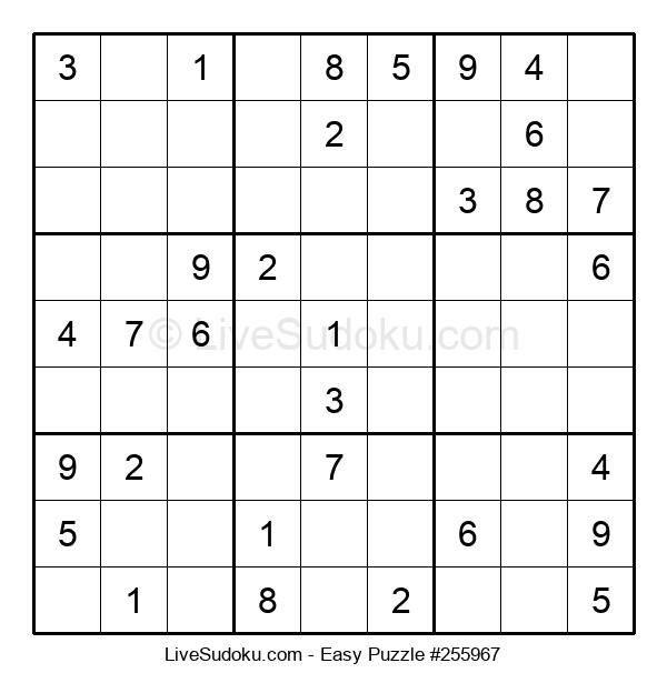 Beginners Puzzle #255967