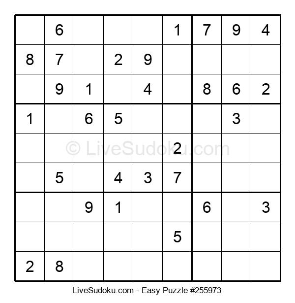 Beginners Puzzle #255973