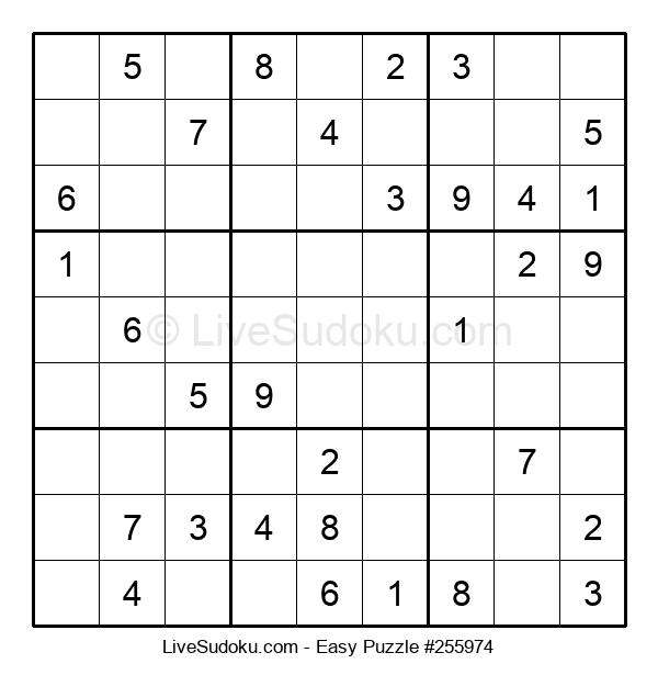 Beginners Puzzle #255974