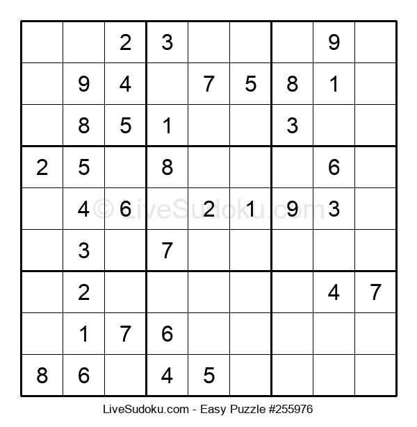 Beginners Puzzle #255976