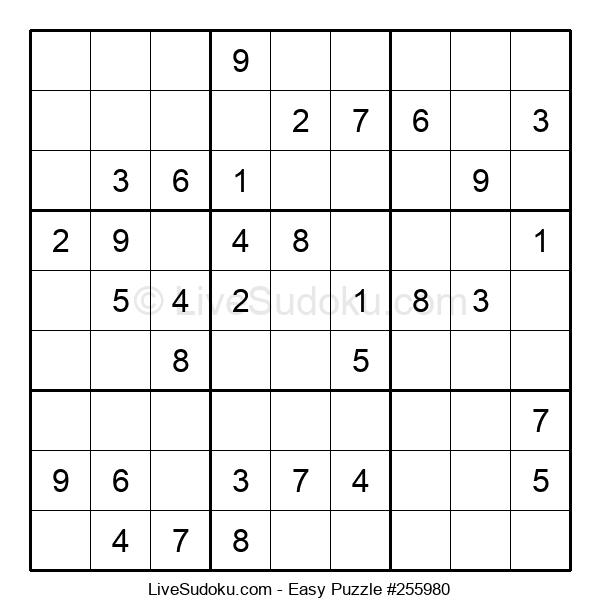Beginners Puzzle #255980