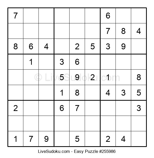 Beginners Puzzle #255986