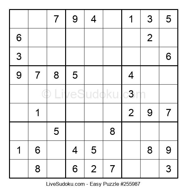 Beginners Puzzle #255987