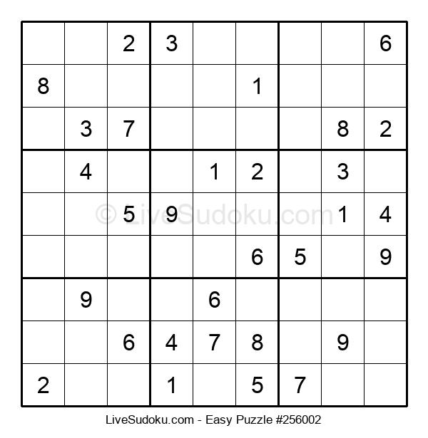 Beginners Puzzle #256002