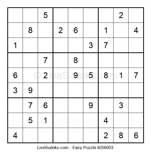 Beginners Puzzle #256003
