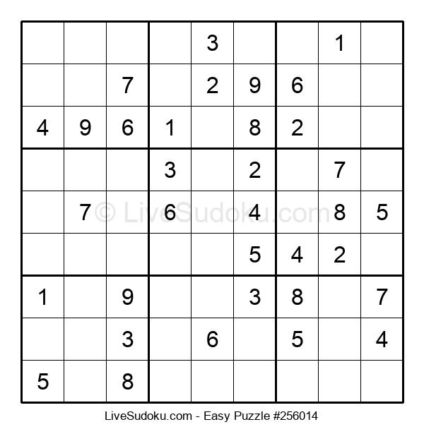 Beginners Puzzle #256014
