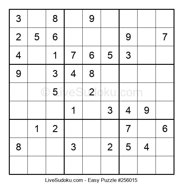 Beginners Puzzle #256015