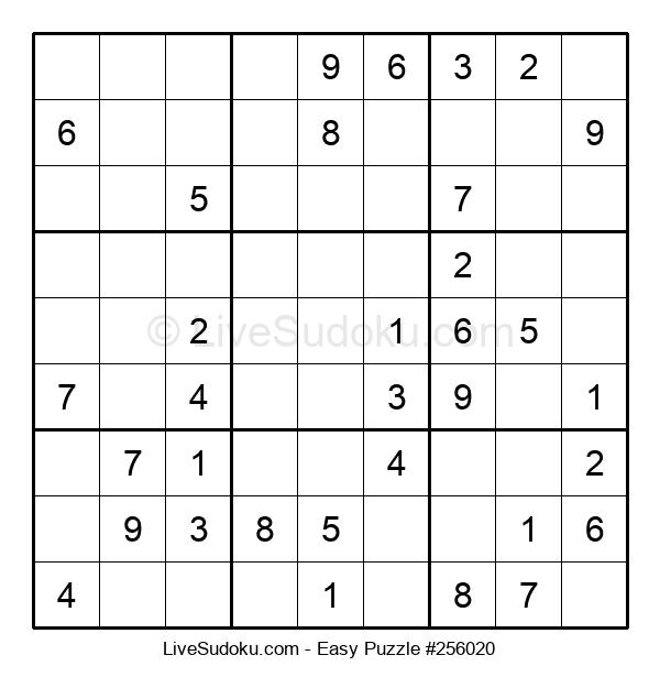 Beginners Puzzle #256020