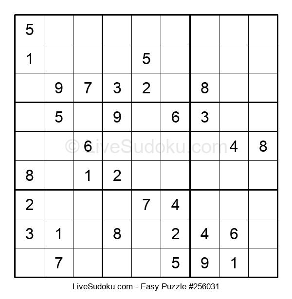 Beginners Puzzle #256031