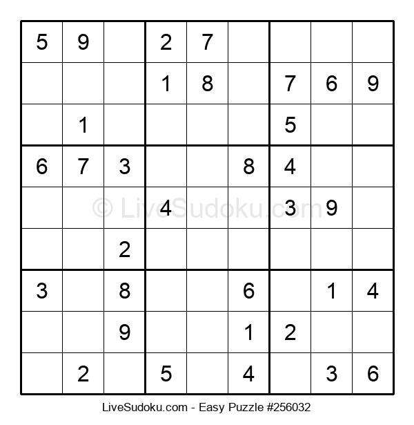 Beginners Puzzle #256032
