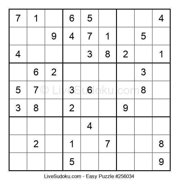 Beginners Puzzle #256034