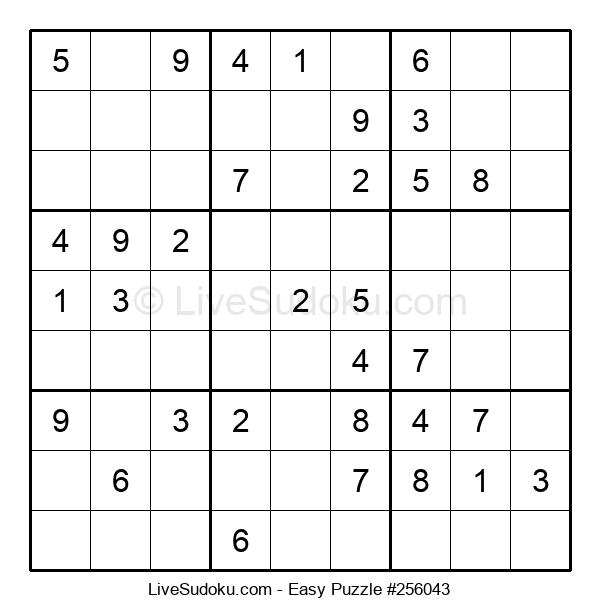 Beginners Puzzle #256043