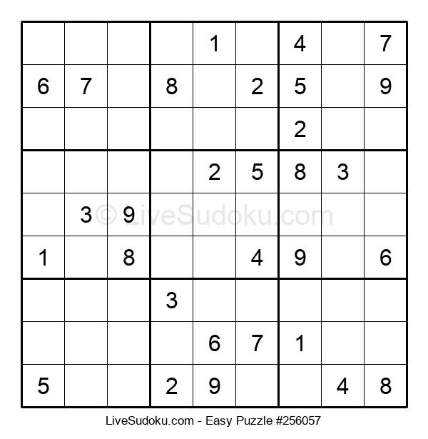 Beginners Puzzle #256057