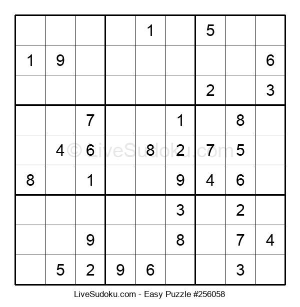 Beginners Puzzle #256058