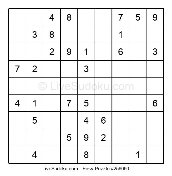 Beginners Puzzle #256060