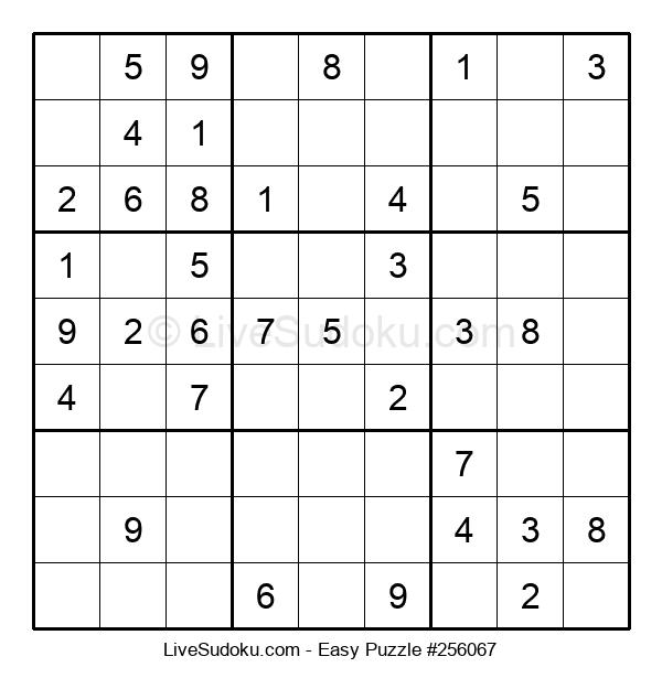 Beginners Puzzle #256067
