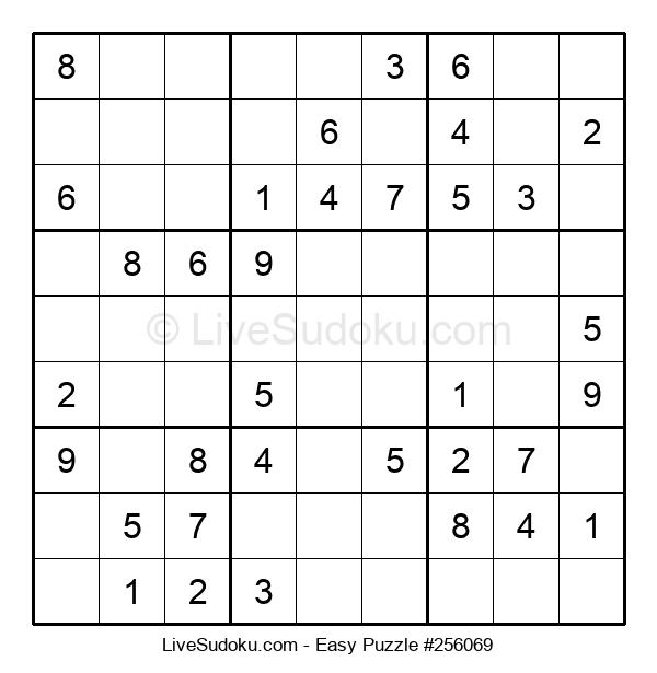 Beginners Puzzle #256069
