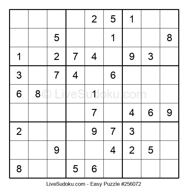 Beginners Puzzle #256072