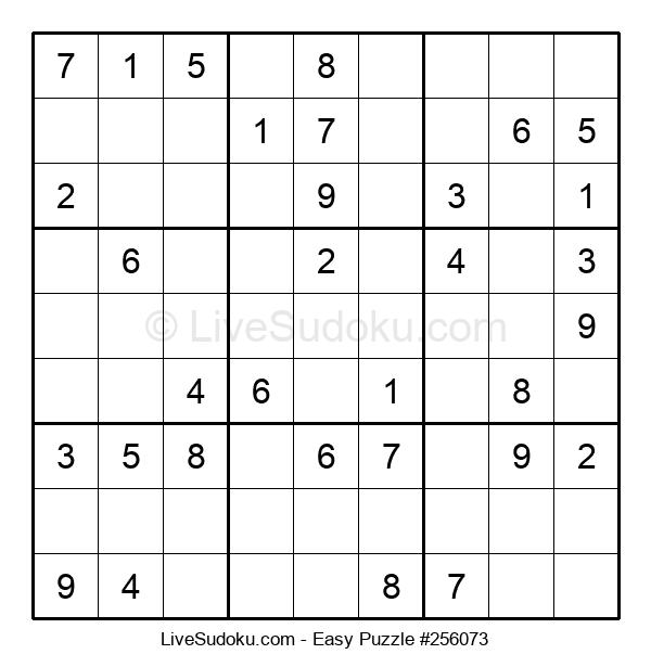 Beginners Puzzle #256073