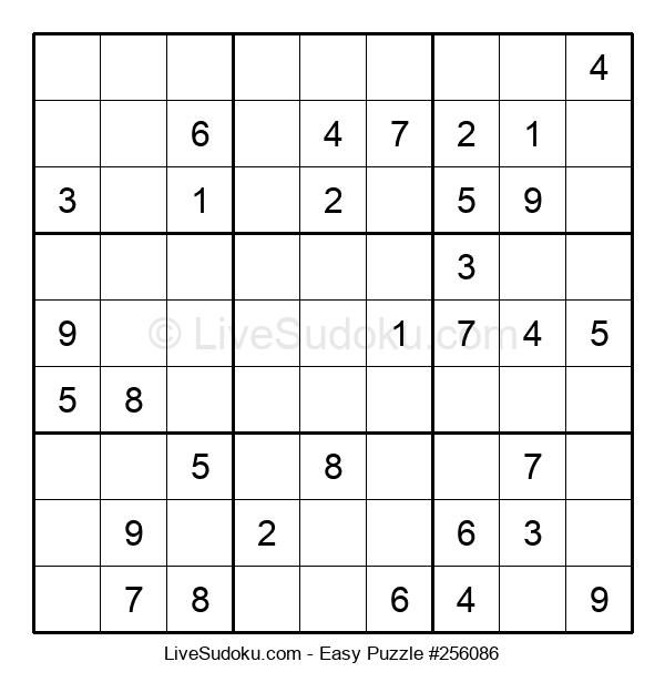 Beginners Puzzle #256086