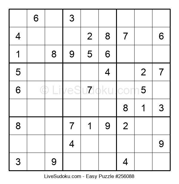 Beginners Puzzle #256088