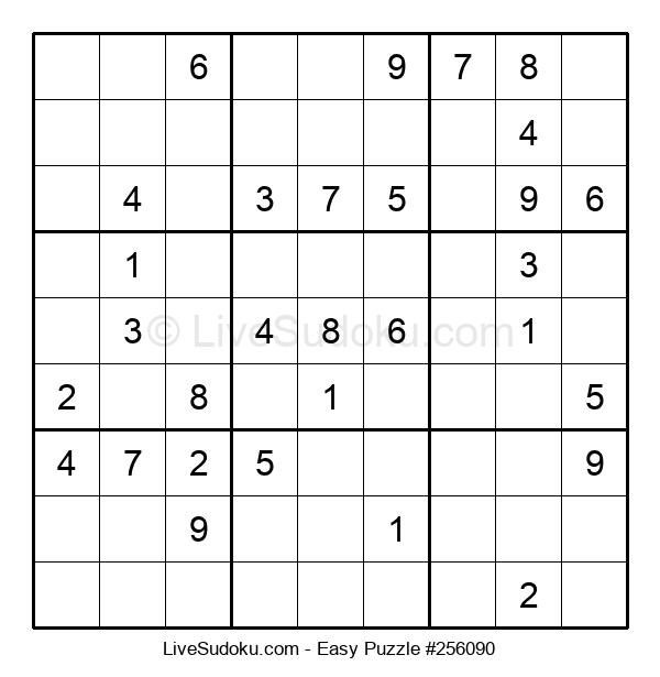 Beginners Puzzle #256090
