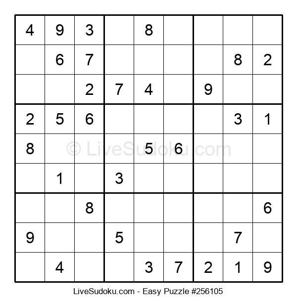 Beginners Puzzle #256105