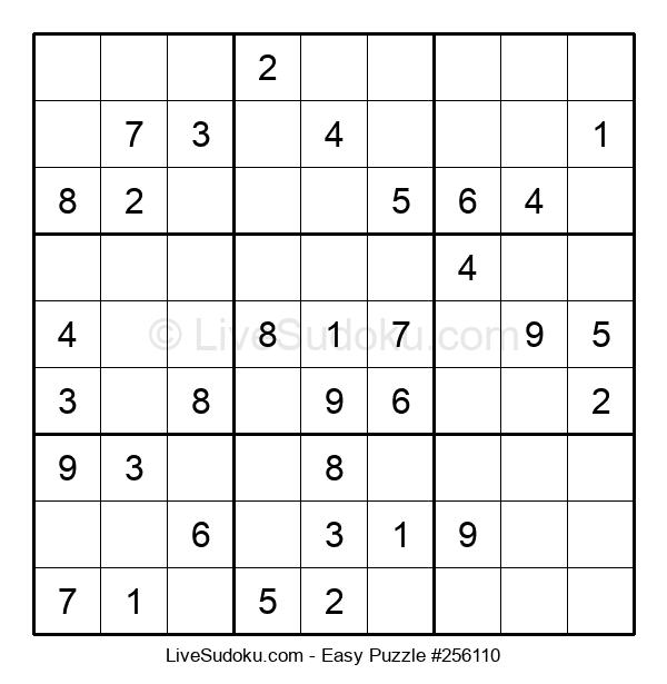 Beginners Puzzle #256110