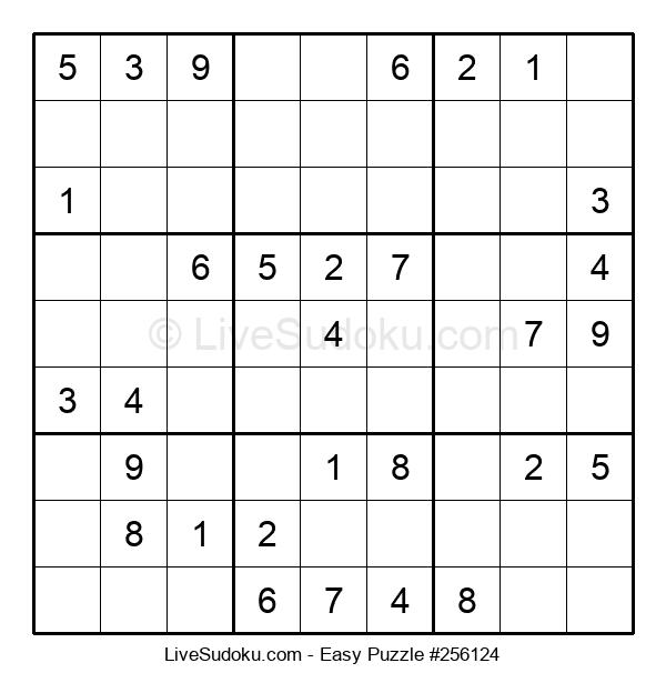 Beginners Puzzle #256124
