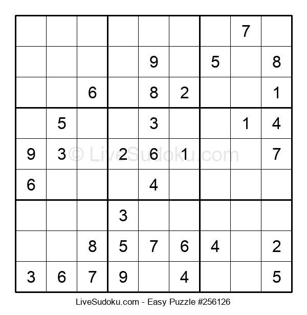Beginners Puzzle #256126