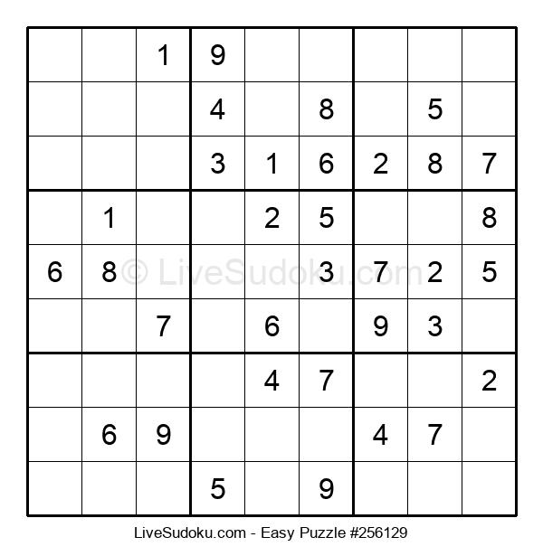 Beginners Puzzle #256129