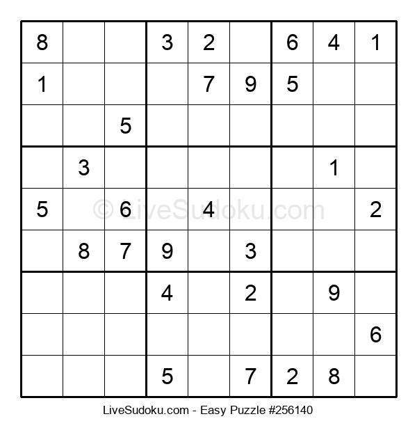 Beginners Puzzle #256140