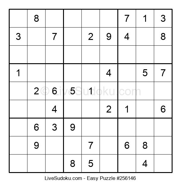 Beginners Puzzle #256146