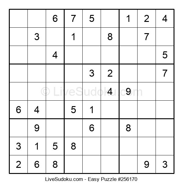 Beginners Puzzle #256170