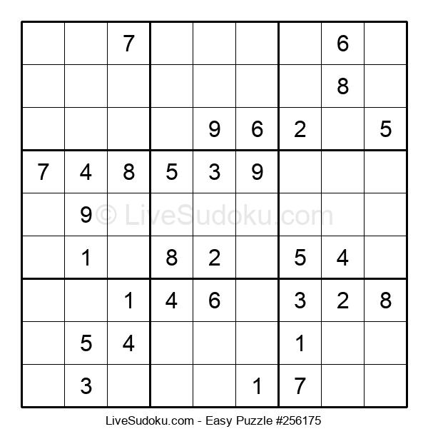 Beginners Puzzle #256175