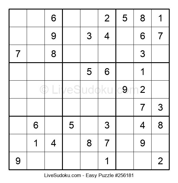 Beginners Puzzle #256181