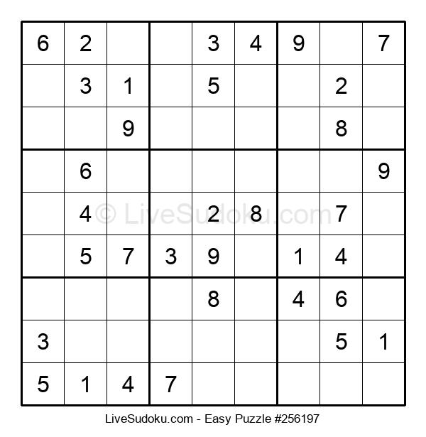 Beginners Puzzle #256197