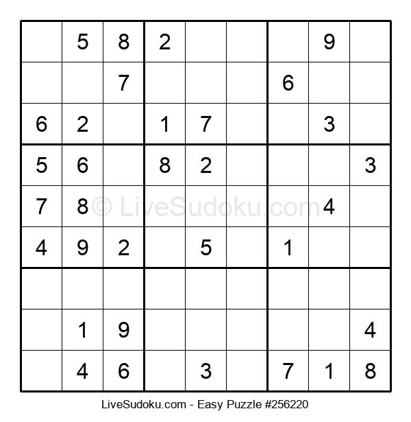 Beginners Puzzle #256220