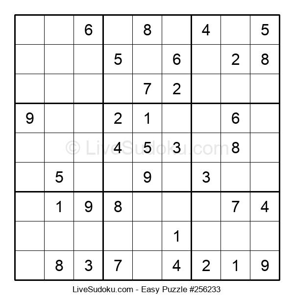 Beginners Puzzle #256233