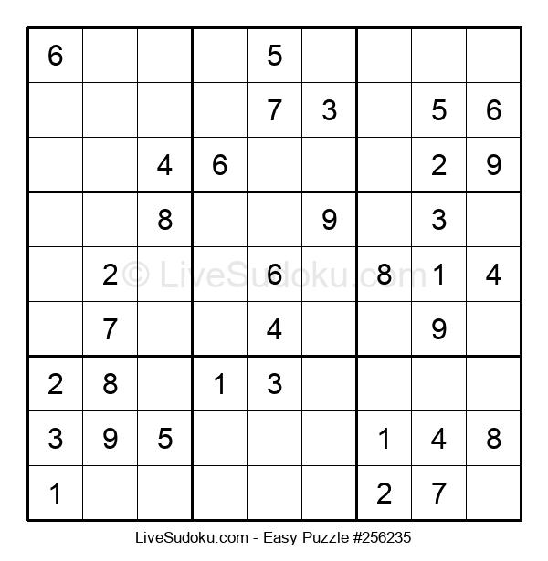 Beginners Puzzle #256235