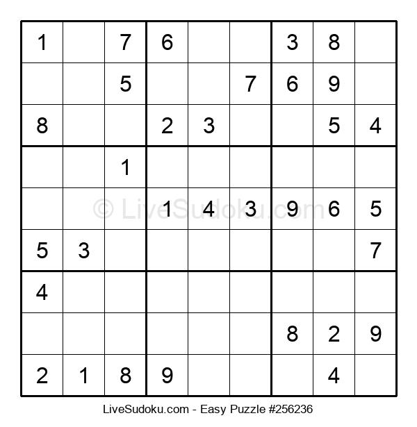 Beginners Puzzle #256236