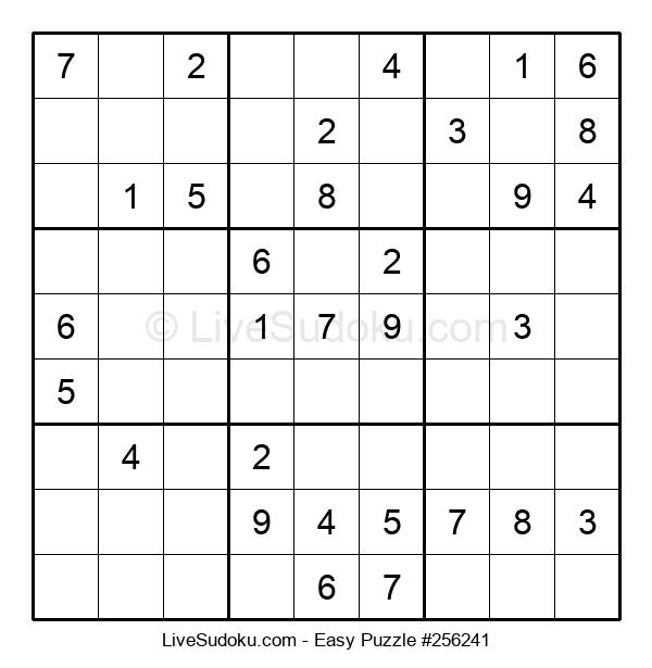 Beginners Puzzle #256241