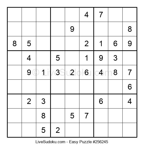 Beginners Puzzle #256245