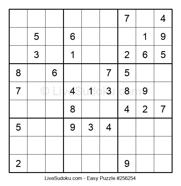Beginners Puzzle #256254