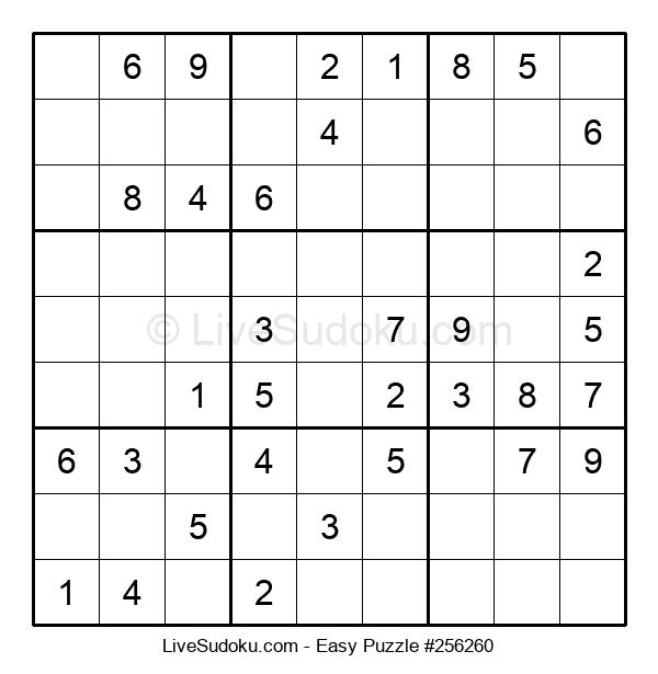 Beginners Puzzle #256260