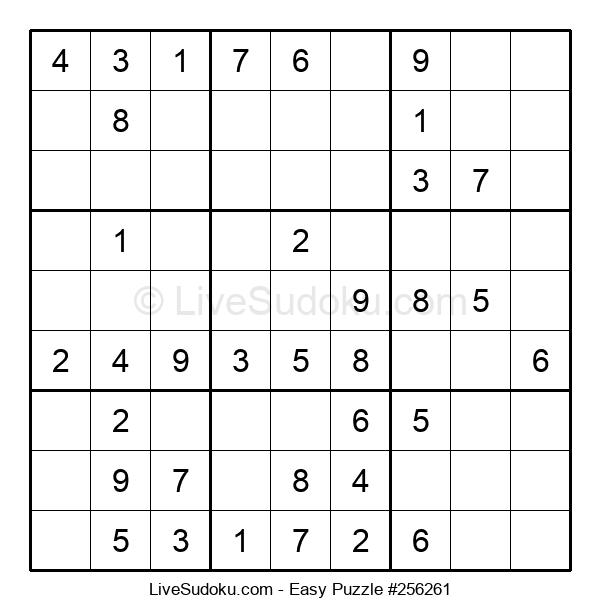 Beginners Puzzle #256261