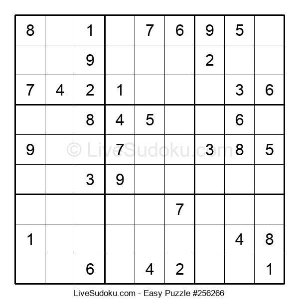 Beginners Puzzle #256266