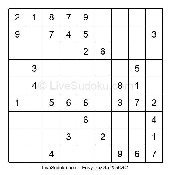 Beginners Puzzle #256267